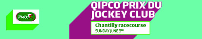 QIPCO PRIX DU JOCKEY CLUB - SUNDAY JUNE 3RD